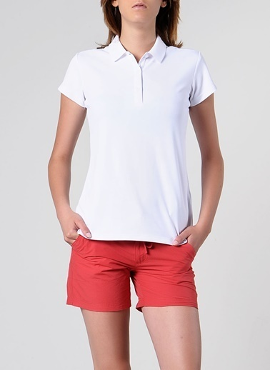Columbia Columbia FL6087 Innisfree Ss Polo T-Shirt Beyaz